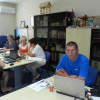6. skupina na usposabljanju »Koledar kapacitet - spletna aplikacija«
