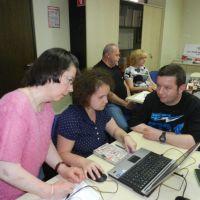 4. skupina na usposabljanju »Koledar kapacitet - spletna aplikacija«