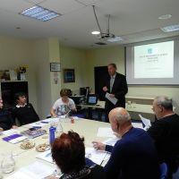 Usposabljanje novih predsednikov DI - članov ZDIS