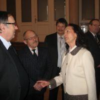 člani UO ZDIS Anton Kastelic, Janez Sedušak, Anton Kolar, mag. Andrejka Fatur Videtič, predsednica strokovnega sveta ZDIS in Rajko Žagar, podpredsednik ZDIS