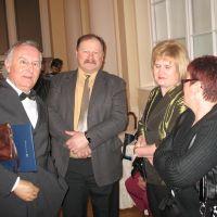 bivši predsednik ZDIS Miran Krajnc, Srečko Matkovič, član UO ZDIS, Zdenka Ornik, predsednica NO ZDIS in Hilda Hladnjak, članica UO ZDIS
