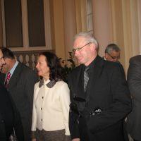Anton Kastelic, član UO ZDIS, mag. Andrejka Fatur Videtič, predsednica strokovnega sveta ZDIS in Jože Freidl, član UO ZDIS