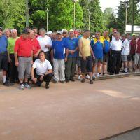udeleženci in udeleženke balinarskega turnirja,  junij 2019