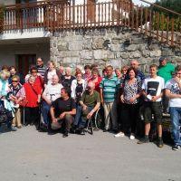 MDI Sežana: izlet v Postojnsko jamo z težjimi invalidi dne 2.6 2018.