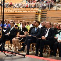 Jubilejna 20. revija pevskih zborov društev invalidov Zveze delovnih invalidov Slovenije, Trbovlje, 12.5.2018