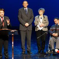 Župan g. Matej Arčon – se zahvali za trud in prizadevanje vsem sodelujočim pri projektu Občina po meri invalidov