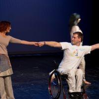 Nastop plesne skupine Krog iz Cetra za vzgojo in rehabilitacijo invalidne mladine Vipava