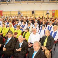19. revija pevskih zborov društev invalidov Zveze delovnih invalidov Slovenije, Radlje ob Dravi, 13.5.2017