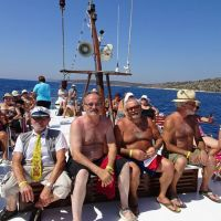 DI Hrastnik: Letovanje članov na Braču