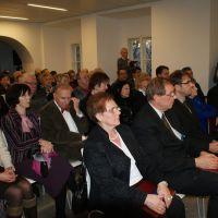 Slovesna podelitev listine ''Občina po meri invalidov'' za leto 2013 Občini Ravne na Koroškem