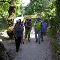 DI Hrastnik: Ogled Vintgarja, potem pa okrog Blejskega jezera