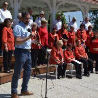 Pozdravni nagovor župana Občine Vrhnika Daniela Cukjatija