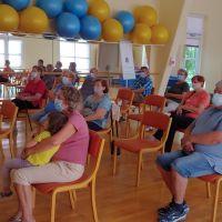 Člani MDI Kamnik na predavanju v okviru okrevanja v Naravnem zdravilišču Topolšica